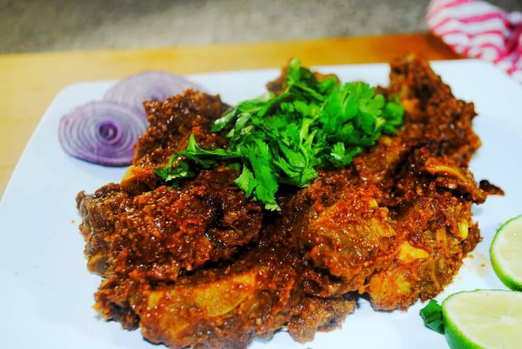 सुक्का मटण (Sukha Mutton)