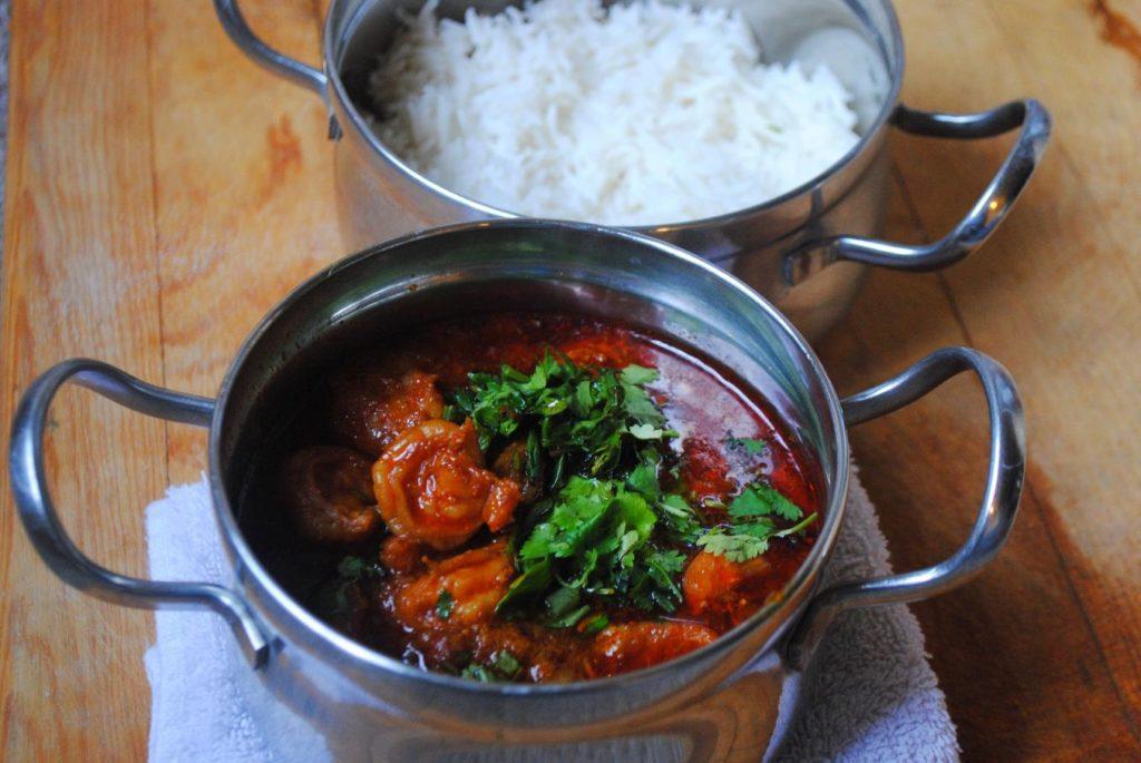 prawns curry / malvani kolambi