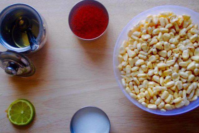 Spicy Corn Ingredients