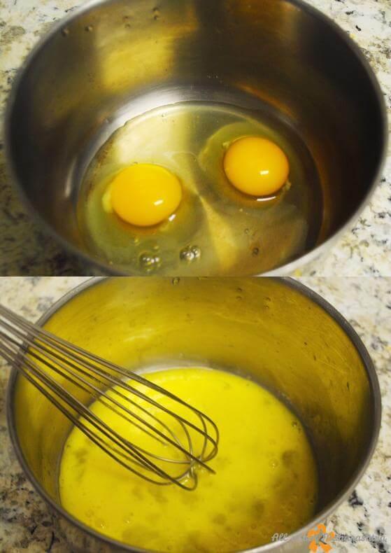 whisk eggs