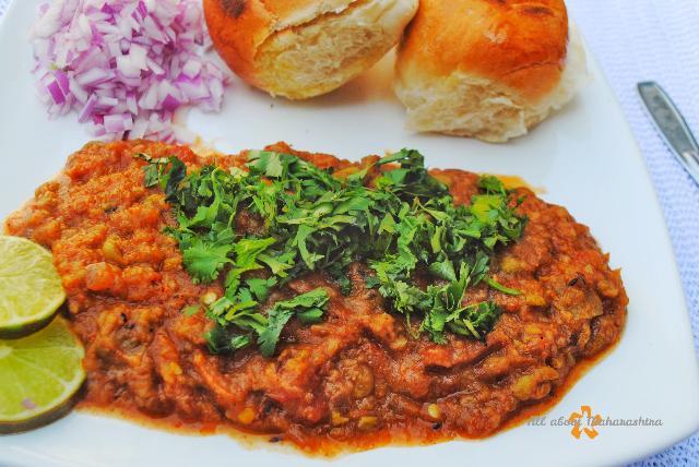pav bhaji maharashtrian street food