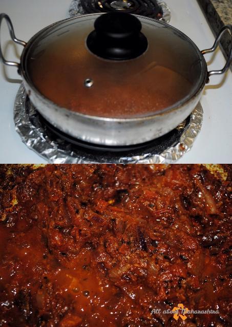 simmer pav bhaji gravy