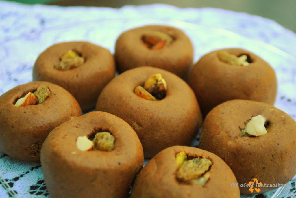 besan ladoo - all about maharashtra